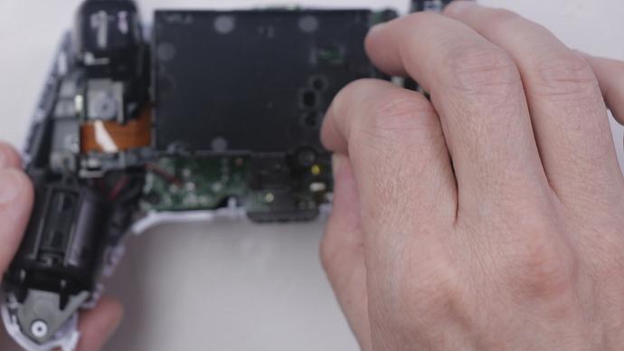 Step 8 - Remove 1 Screw - Remove Batt Tray