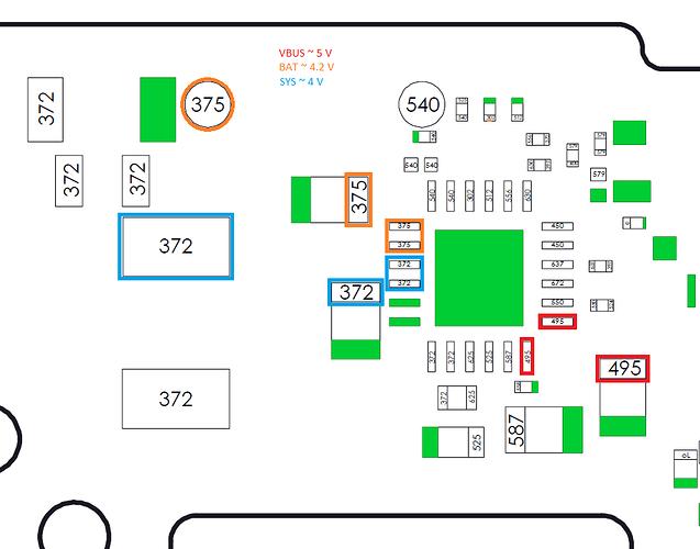 Switch Schematic (BQ24193 IC)